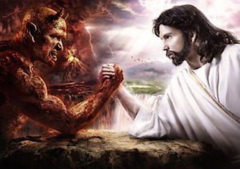 wie dem Teufel seine Macht gewährt wurde